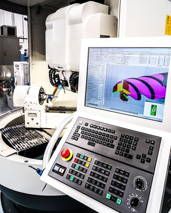 Macchine affilatrici CNC